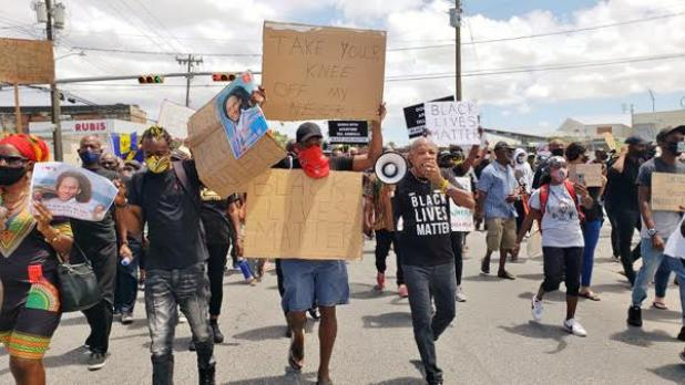 Protesters get their day in the spotlight | Barbados Advocate