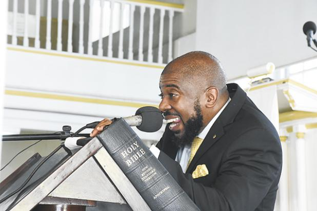 A passionate Reverend Dr. Adrian Smith of the Calvary Moravian Church encouraged the Barbados Government Information Service (BGIS) which is celebrating its 60th anniversary to 'Listen and Live' in his sermon yesterday.