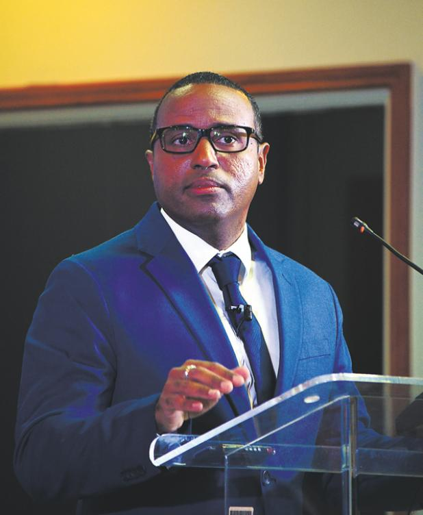 Caribbean Development Bank's Director of Economics, Dr. Justin Ram.