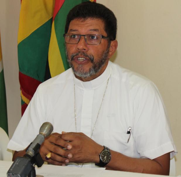Roman Catholic Bishop for Bridgetown, Barbados, Jason Gordon.
