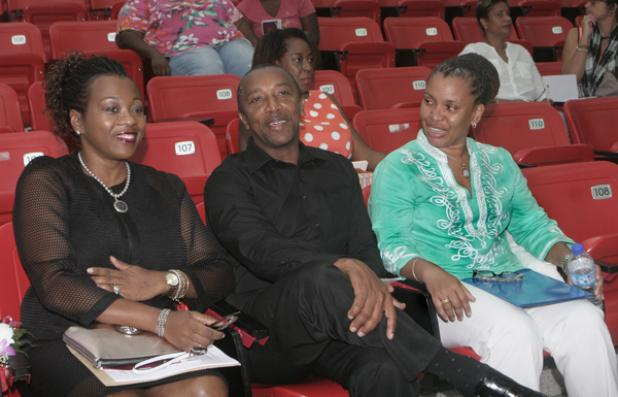 Judge at Int'l Womens Day Lecture