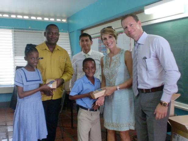Tablets for 81 west terrace primary students barbados for Terrace school