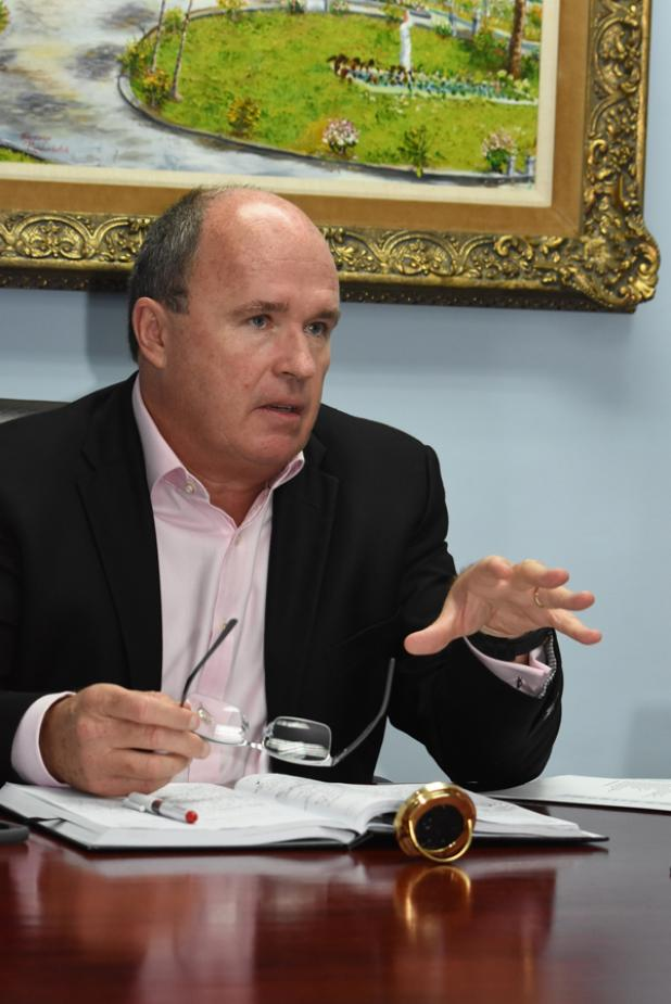 New Chairman of the Tourism Development Corporation (TDC), Martin Ince.