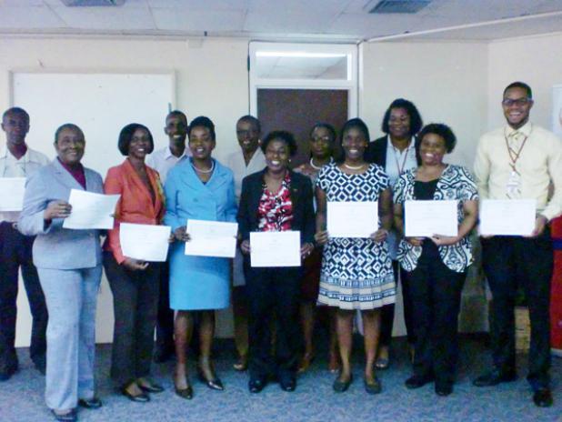 The TRAINPOST graduates.