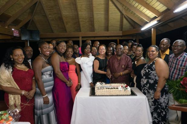 Staff of Caribbean ARI Inc and Runway Caribbean shared a proud moment as the company recently celebrated its ten anniversary at the historic Gun Hill Signal Station.