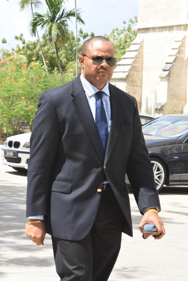 Minister of Finance, Christopher Sinckler.