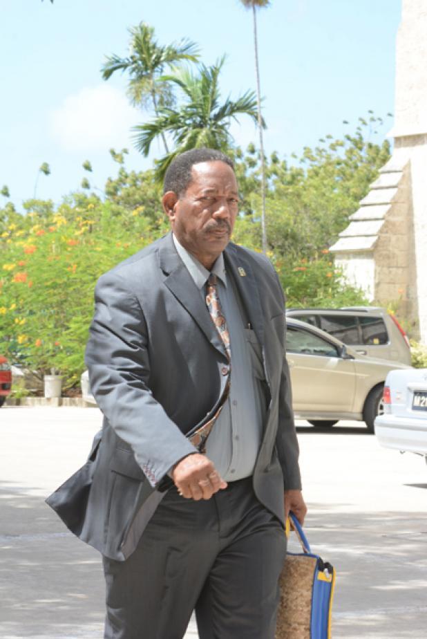 Senator Alwin Adams.