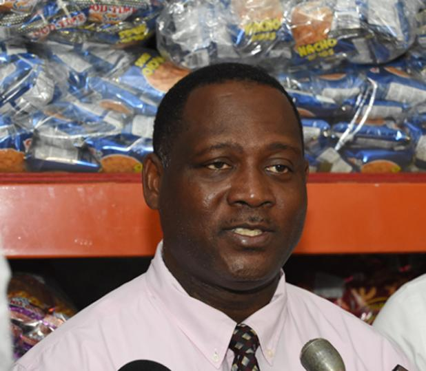 Minister of Industry, Commerce, International Business and Small Business Development, Donville Inniss.