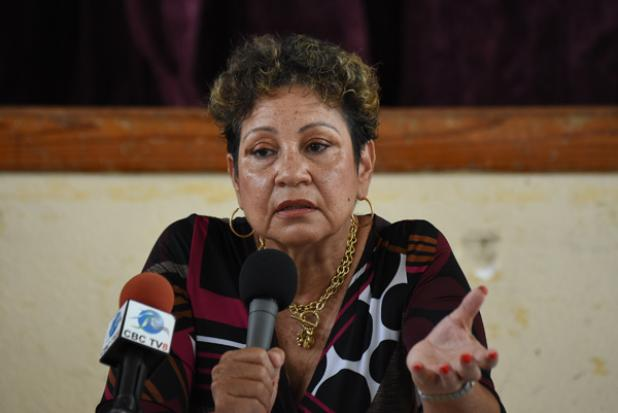 President of the Barbados Secondary Teachers' Union (BSTU), Mary Ann Redman.