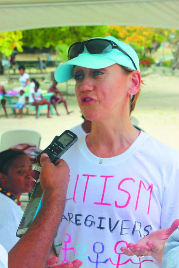Speech-Language Pathologist with the Barbados Council for the Disabled, Sue McMillan.