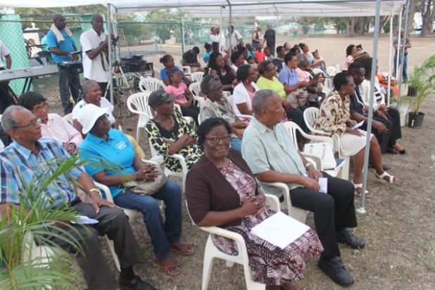 A section of the audience in attendance at the 4th anniversary celebrations of the One Man A Month programme.