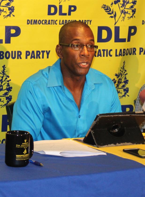 General Secretary of the Democratic Labour Party (DLP), George Pilgrim.