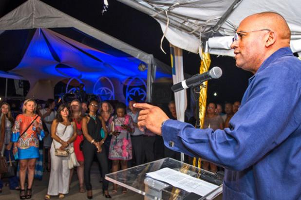 Minister of Tourism & International Transport, Hon. Richard Sealy, encouraging global tour operators to see Barbados as a true heritage tourism escape.