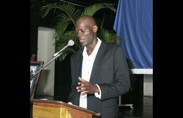 Director of Sir Arthur Lewis Institute for Social and Economic Studies (SALISES), Dr. Don Marshall.