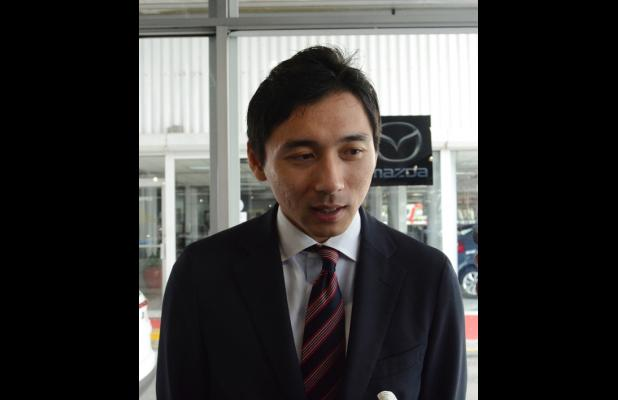 Kota Inoue, Caribbean Representative of Mazda from the Sumitomo Corporation.