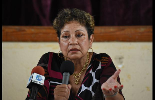 President of the Barbados Secondary Teachers' Union (BSTU), Mary Ann Redman.