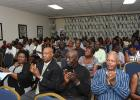 Some of the teachers and other specially invited guests at the AGM.