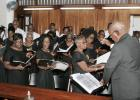 The Central Bank Choir in action.